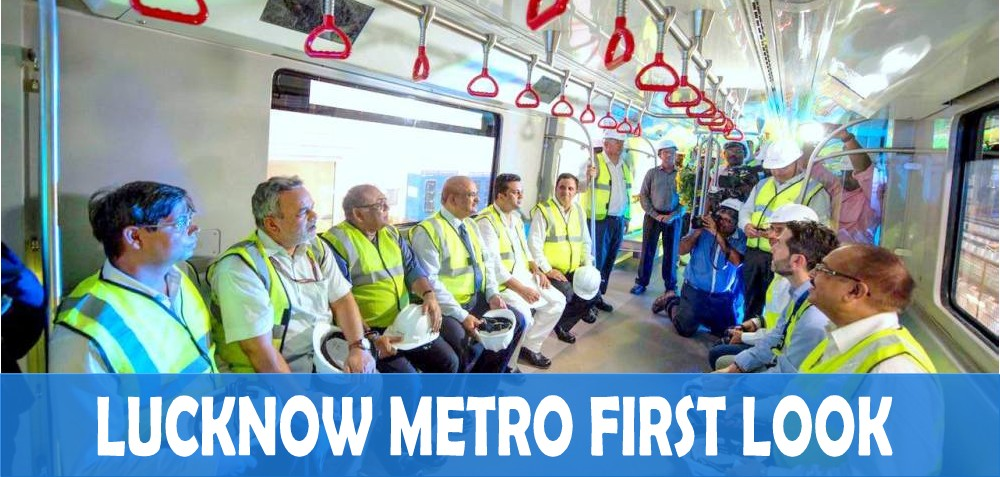 First Look Lucknow Metro