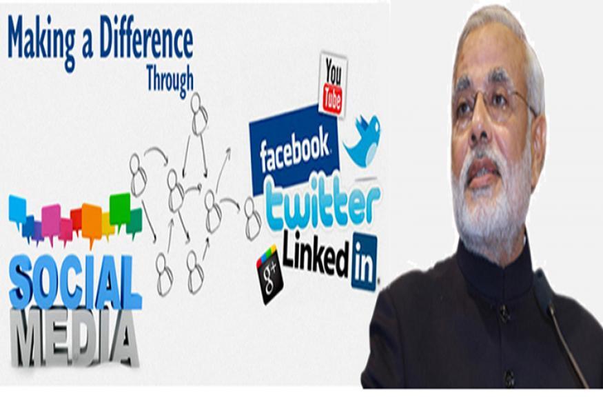 Naredra Modi on Social Media