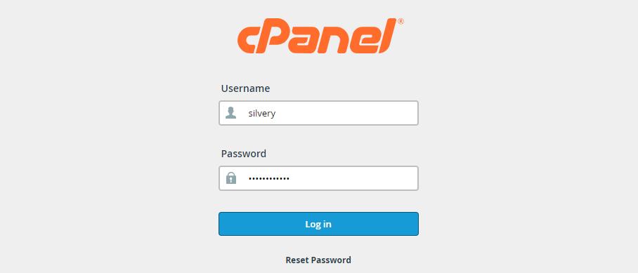 Cpanel login