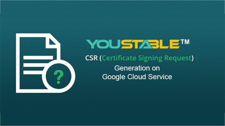 CSR Generation