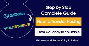 How to Transfer Hosting From GoDaddy to Youstable